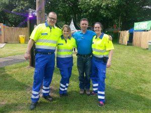EHBO team